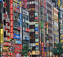 Tokyo Geometry by sparrowhawk