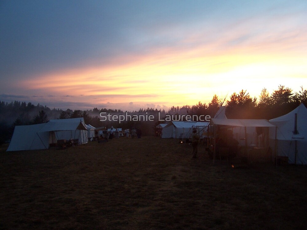 Sunset Camp by Stephanie Lawrence