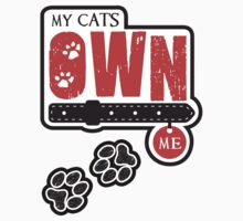 My Cats Own Me by Elena Maria