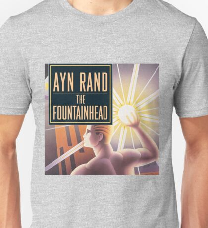 The Fountainhead by Ayn Rand - Cover Unisex T-Shirt