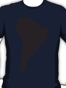 South America simple shape map T-Shirt