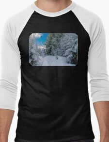 Winters path  Men's Baseball ¾ T-Shirt