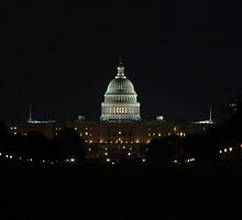 Capital Building at Night I by shadow2