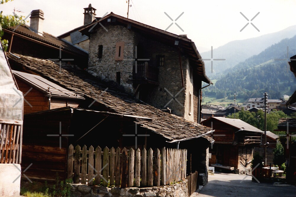 Ancient cottages by georgiegirl