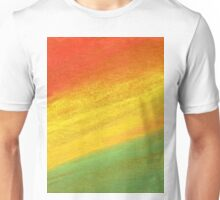 Red Yellow Green Gouache Unisex T-Shirt