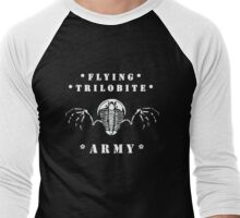 Flying Trilobite Army - white Men's Baseball ¾ T-Shirt