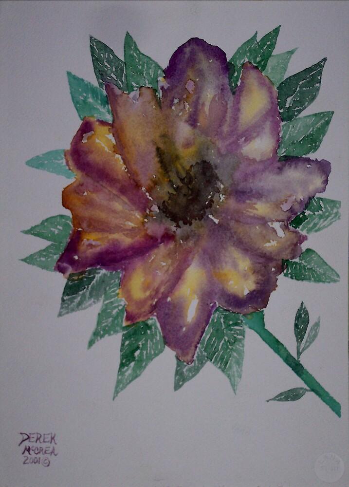 Lone Flower by derekmccrea