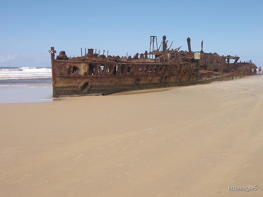 Shipwreck Fraser Island, Queensland by littleeagle5