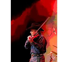 Red Hot Smokin' Fiddleman Photographic Print