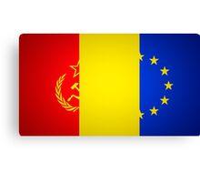 Romanian Status Quo Canvas Print