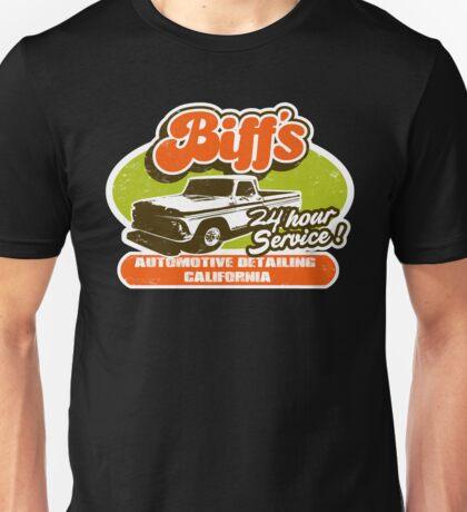 Biff's Auto Detailing.  Unisex T-Shirt