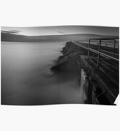 West Kirby long exposure Poster