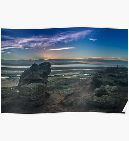 West Kirby Sunset Poster