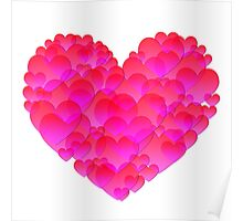 Abstract heart 2 Poster