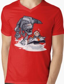 Jurassic Hoth Mens V-Neck T-Shirt