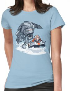 Jurassic Hoth Womens Fitted T-Shirt