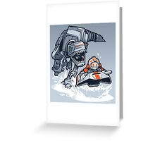 Jurassic Hoth Greeting Card