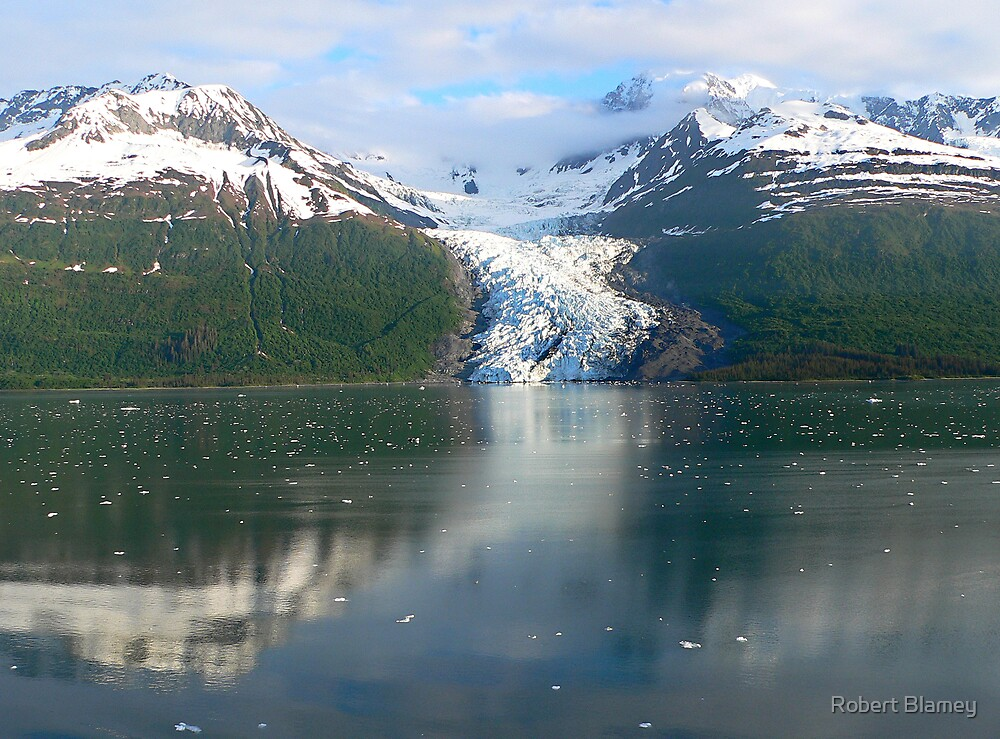 Ice River by Robert Blamey