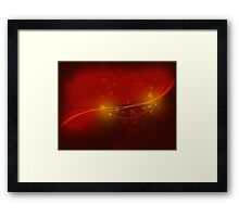 Abstract valentine background 2 Framed Print