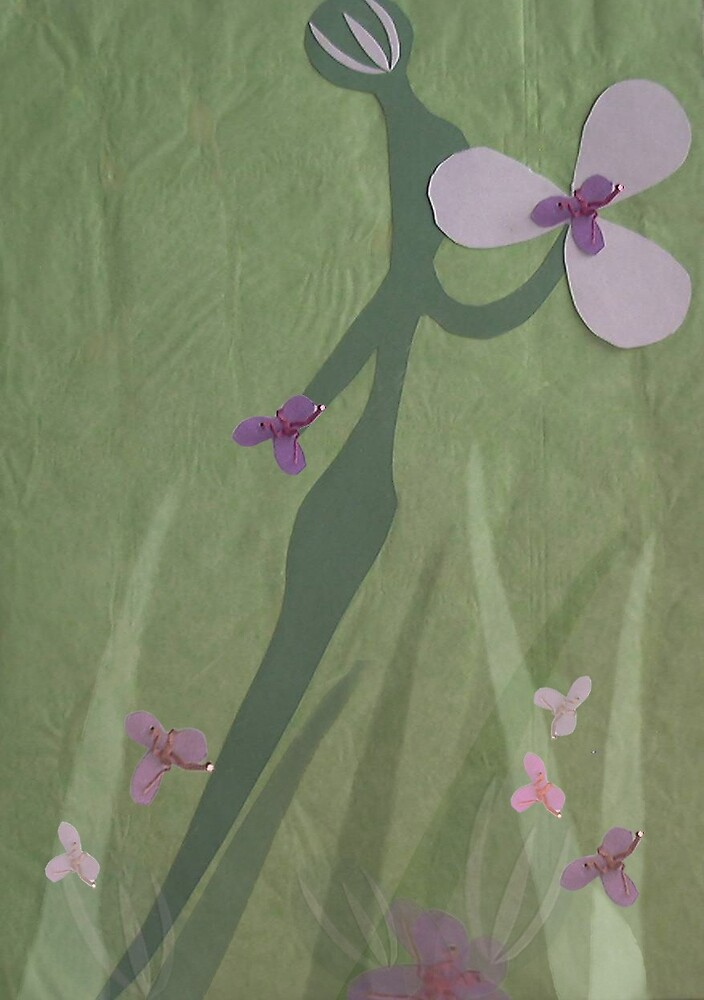 """Tender Flower by Robin """"Durga"""" Hoffman"""
