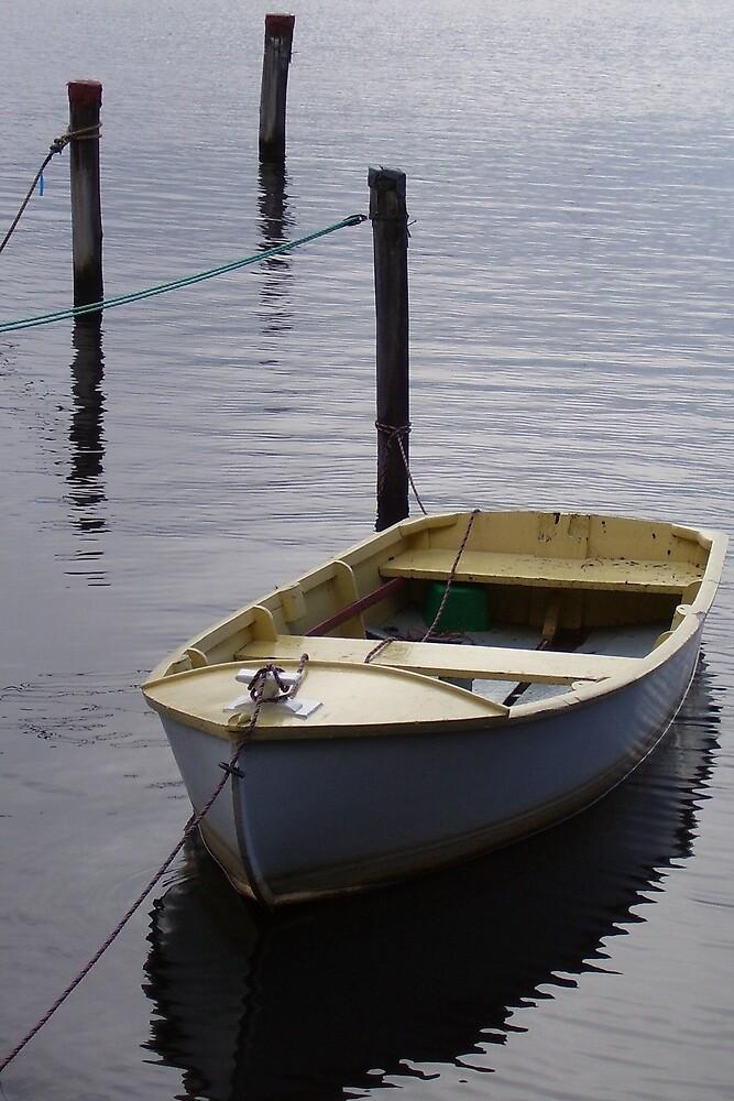 resting boat by gaylene