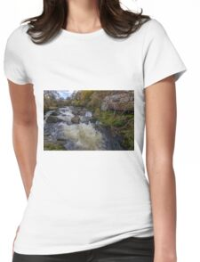 Little House On The River Womens Fitted T-Shirt