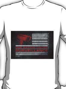 One Nation Under Surveillance - ihone & Laptop shell T-Shirt