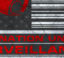 One Nation Under Surveillance - ihone & Laptop shell Sticker