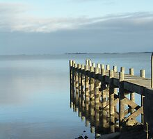 Early Morning Jetty by khertihotep