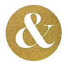 Gold ampersand by AnnaGo