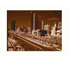 Downtown San Diego Art Print
