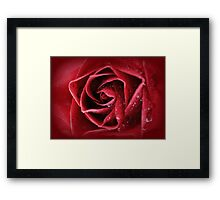 Love intensely from the heart... Framed Print