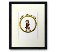 Bilbo the Burglar Framed Print