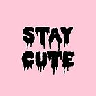 Stay Cute // Pastel Goth  by hocapontas