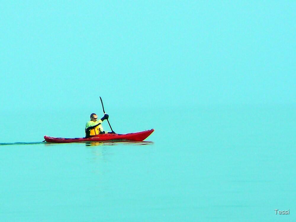 Kayaker by Tessi