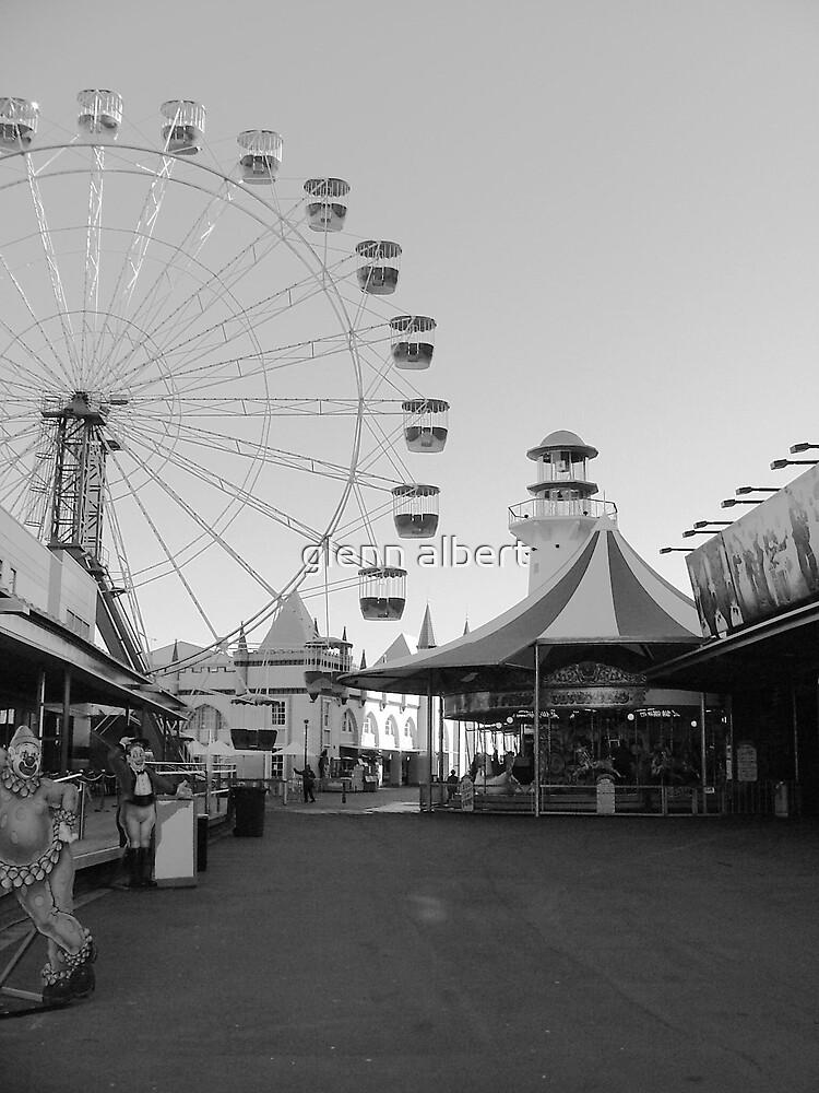 Alone in Luna Park by glenn albert