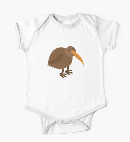 little brown kiwi bird One Piece - Short Sleeve
