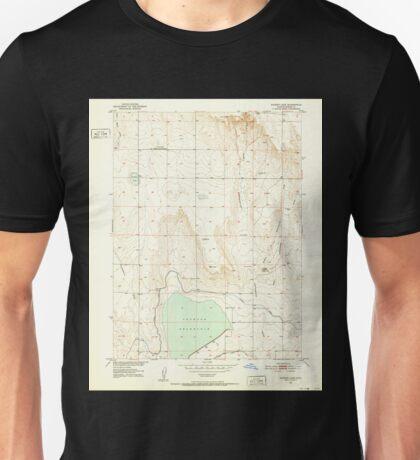 USGS TOPO Map Colorado CO Sunken Lake 234658 1951 24000 Unisex T-Shirt