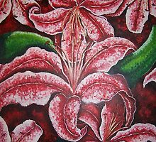 Red Lily by BettiOliver