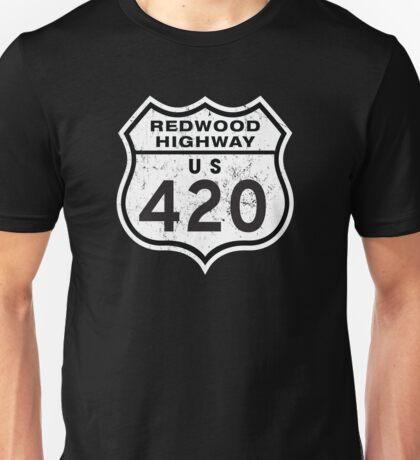 Redwood HIGHway US 420 California Unisex T-Shirt