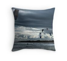 The End of the Day............... Throw Pillow