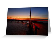 Derby Jetty Greeting Card