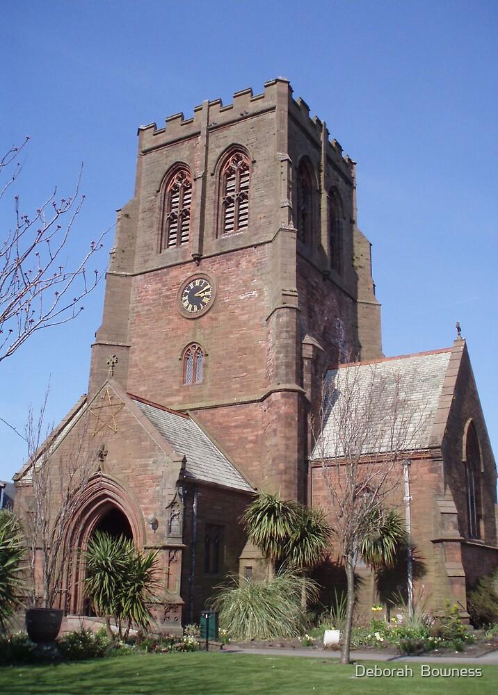 St Nicholas Church Whitehaven by Deborah  Bowness
