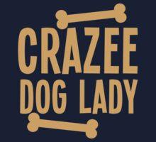 Crazee Dog lady by jazzydevil