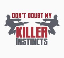 Don't doubt my killer instincts with ninjas kung fu fighting by jazzydevil