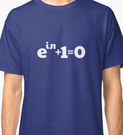 Euler's Identity Math Formula Classic T-Shirt