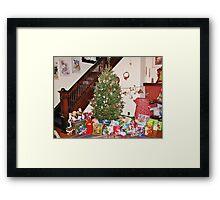 Christmas Scene With Dalek Framed Print