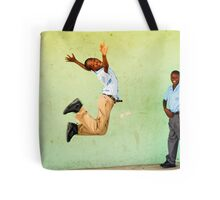 Jumping out of joy Tote Bag