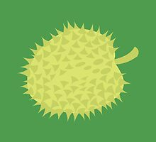 Simple Durian tropical fruit South East Asia by jazzydevil