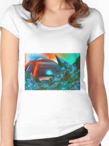 Colour your weekend Women's Fitted Scoop T-Shirt